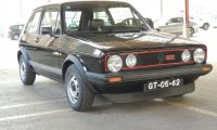Golf GTI MKI 1981 - an iconic that walks among us