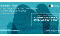 """Palestra """"Conservação dos Ecossistemas Marinhos dos Açores"""" na Biblioteca de Angra"""