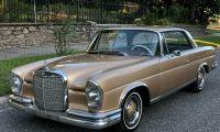 1966 Mercedes-Benz 250SE Coupe - So pretty, wasn't it?