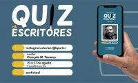 """Secretaria Regional da Cultura, da Ciência e Transição Digital promove """"Quiz de Escritores"""" através do Instagram"""
