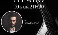 """A 10 de julho  Concerto """"Clássicos do Fado"""" com  Fábio Ourique no Auditório do Ramo Grande"""