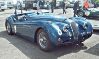Jaguar XK120 - The beauty and the power