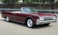 1963 Lincoln Continental Convertible - rare and very beautiful
