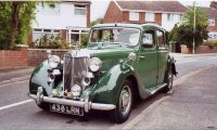 """MG Y - type - 1947/1953 - """"Golden"""" years of a beautiful car"""