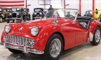 Triumph TR3 - Muito especial e competitivo na sua época