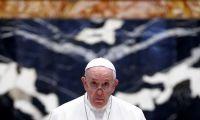 """Papa está """"em boas condições, consciente e a respirar sozinho"""""""