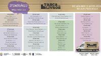 """Biblioteca Luís da Silva Ribeiro disponibiliza roteiro da """"Tasca dos Livros"""""""