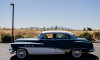 1951 Buick 50 Super 4 Door Sedan - very showy
