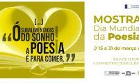 Direção Regional da Cultura promove mostra sobre o Dia Mundial da Poesia