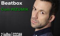 Masterclass de Beatbox 2 de Julho de 2021 às 09:30 até 17:00