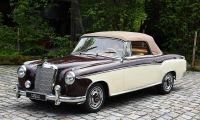 1958 Mercedes-Benz 220S Ponton - Great design for a beautiful Mercedes